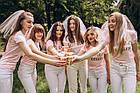 """Футболки на дівич-вечір для подружок нареченої та нареченої  """"Bride & Bride Team"""", фото 8"""