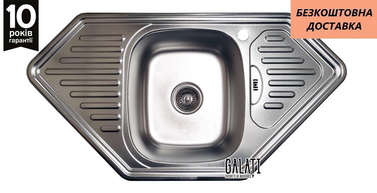 Кухонна мийка Galati Meduza Satin