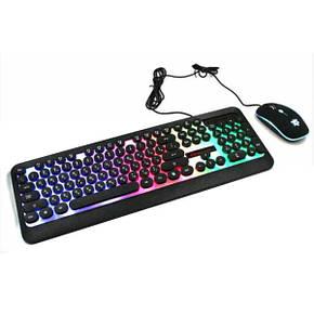 Клавіатура Led Gaming Keyboard HK3970 клавіатура + миша, фото 2
