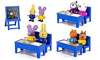 Свинка Пеппа герои Pig Peppa игровой набор Школа, фото 2