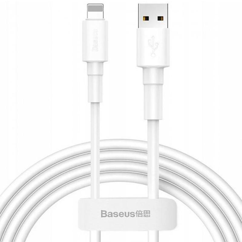 USB Cable Baseus Superior Series Lightning 2.4A (CALYS-A02) White 1m