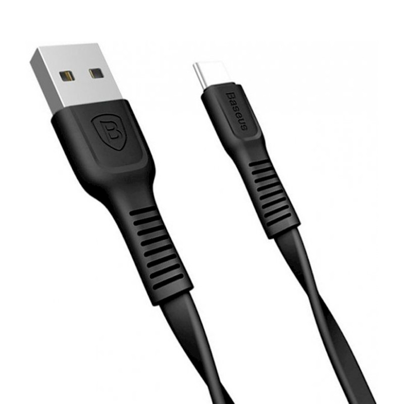 USB Cable Baseus Tough Series Type-C (CATZY-B01) Black 1m