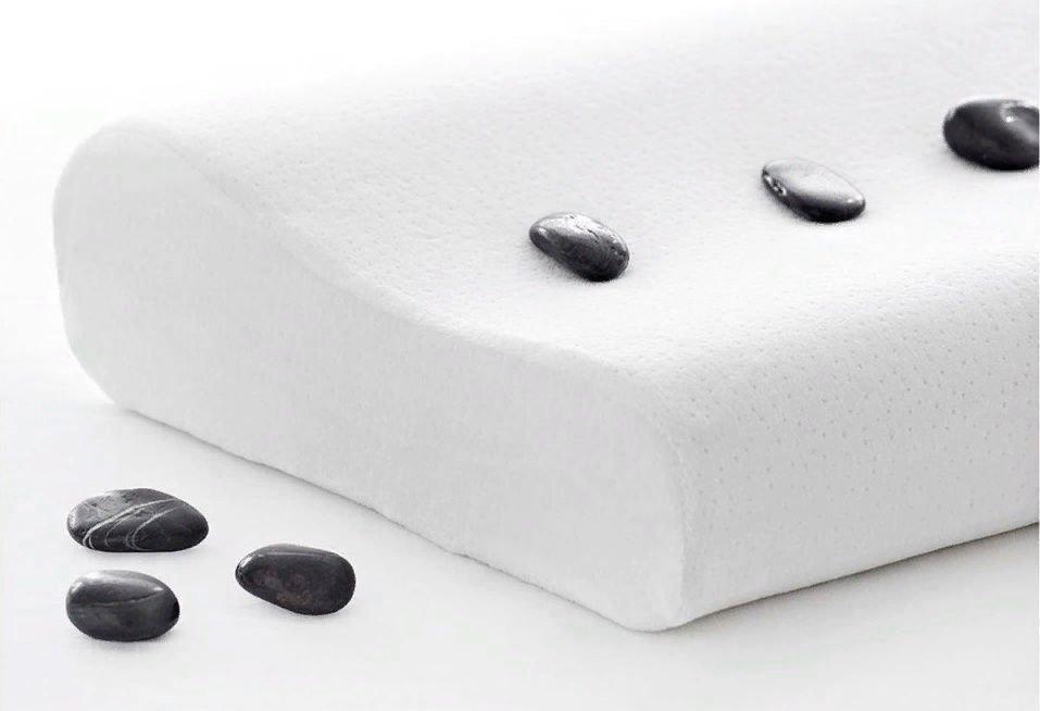 Ортопедическая подушка жесткая для сна с эффектом памяти Memory Foam Pillow для взрослых и детей