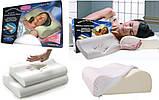 Ортопедическая подушка жесткая для сна с эффектом памяти Memory Foam Pillow для взрослых и детей, фото 6