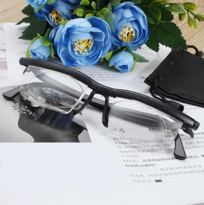 Очки с регулировкой линз Dial Vision для зрения, Стильные очки диал визион, Универсальные очки для зрения