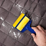 Многоразовый липкий валик для уборки дома и чистки одежды Sticky Buddy, Липкий ролик для одежды Стики бадди, фото 2