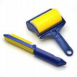 Многоразовый липкий валик для уборки дома и чистки одежды Sticky Buddy, Липкий ролик для одежды Стики бадди, фото 3