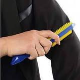 Многоразовый липкий валик для уборки дома и чистки одежды Sticky Buddy, Липкий ролик для одежды Стики бадди, фото 4