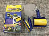Многоразовый липкий валик для уборки дома и чистки одежды Sticky Buddy, Липкий ролик для одежды Стики бадди, фото 5