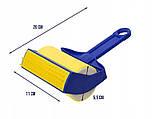 Многоразовый липкий валик для уборки дома и чистки одежды Sticky Buddy, Липкий ролик для одежды Стики бадди, фото 7