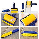 Многоразовый липкий валик для уборки дома и чистки одежды Sticky Buddy, Липкий ролик для одежды Стики бадди, фото 8
