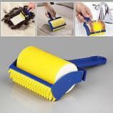 Многоразовый липкий валик для уборки дома и чистки одежды Sticky Buddy, Липкий ролик для одежды Стики бадди, фото 9