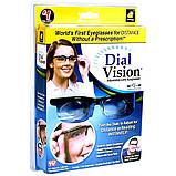 ОПТ Окуляри з регулюванням лінз Dial Vision для зору стильні окуляри діал візіон універсальні окуляри для зору, фото 5