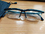 ОПТ Окуляри з регулюванням лінз Dial Vision для зору стильні окуляри діал візіон універсальні окуляри для зору, фото 8