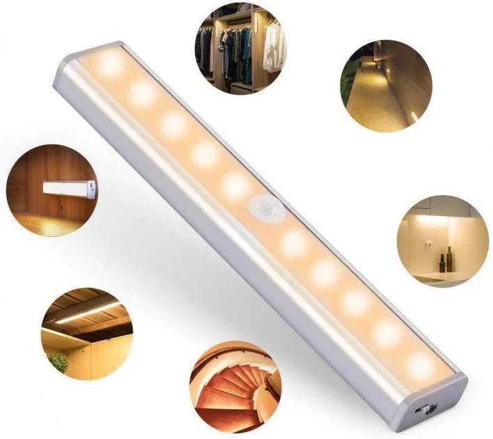 ОПТ Світильник світлодіодний бездротовий з датчиком руху Motion Brite LED на батарейках
