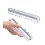 ОПТ Світильник світлодіодний бездротовий з датчиком руху Motion Brite LED на батарейках, фото 2