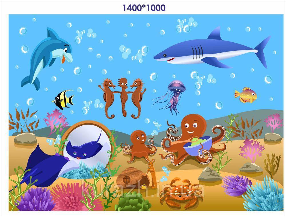 """Фотошпалери в дитячу кімнату """"Море"""""""