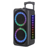 Портативная Bluetooth колонка HAVIT HV-SF126BT RGB черная (26811)