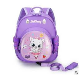Детский рюкзак вожжи для малышей с котиком