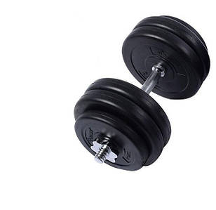 ГАНТЕЛЬ 1х28 кг Металлический Гриф Toys