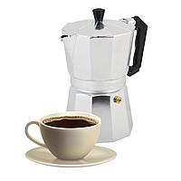 Гейзерна кавоварка Kamille 450мл з алюмінію KM-2502