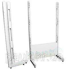 Комплект ног для торгового стеллажа 1900х400 мм, стойки для стеллажа Ристел правая и левая