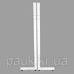 Комплект стійок для стелажа Рістел 1900х500 мм, ноги на стелаж Рістел права+ліва