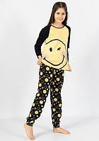 Піжама для дівчинки Смайл кофта і штани 9-16 років