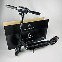 Складаний електросамокат Kugoo S3 Jilong Чорний | Двоколісний електричний самокат Куго для дорослих і дітей