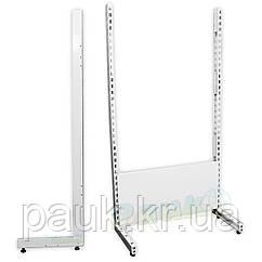Права нога для стелажа рістел 1900х500 мм, металева стійка для торгового стелажа, нога стелажа Рістел