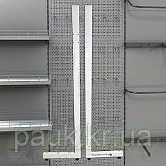 Стійка на стелаж Рістел 2100х500 мм права, торгова стійка для стелажа, нога на торговий стелаж