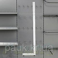 Стійка стелажа Рістел 2350х400 мм права, нога для стелажа Рістел, стійка для торгового стелажа
