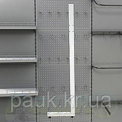 Стойка стеллажа Ристел 2350х400 мм правая, нога для стеллажа Ристел, стойка для торгового стеллажа