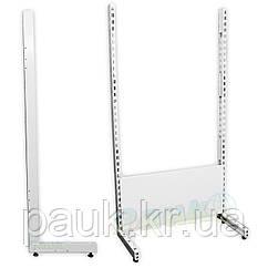 Левая стойка для стеллажа ристел 1900х500 мм, нога для стеллажа Ристел, металлическая стойка для стеллажа
