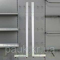 Стійка на стелаж Рістел 2100х500 мм ліва, торгова стійка для стелажа, нога на торговий стелаж