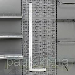 Стійка стелажа Рістел 2350х400 мм ліва, нога для стелажа Рістел, стійка для торгового стелажа
