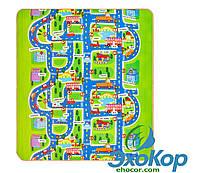 Дитячий двосторонній килимок EPE Play Baby Mat 200х180х1см, фото 1
