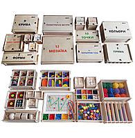 Повний дидактичний набір Фребеля Hega 14 коробок з повним методичним посібником (243), фото 1