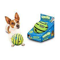 Іграшка для собак м'яч регочуть Wobble Wag Giggle