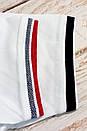 Белое мужское поло хлопок Montana Монтана, фото 3