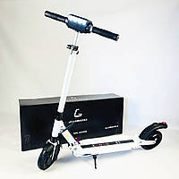 Складаний електросамокат Kugoo S3 Jilong Білий | Двоколісний електричний самокат Куго для дорослих і дітей