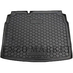 Автомобильный коврик в багажник Volkswagen Golf 5 03-/6 09- (hatchback) нижняя полка(Avto-Gumm)