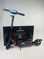 Стоїть електросамокат Kugoo S3 Pro Jilong Чорний | Складний дорослий електричний двоколісний самокат Куго