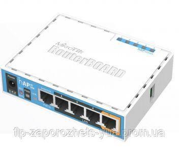 HAP ac lite (RB952Ui-5ac2nD) Двохдіапазонна Wi-Fi точка доступу з 5-портами Ethernet, для домашнього використання, фото 2