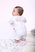 """Пісочник і шкарпетки """"Ангел"""" з мереживом (вишивка на грудях)"""