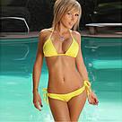 Женский купальник на завязках Яркие расцветки, фото 3