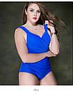 Сдельный купальник женский. Закрытый купальник женский больших размеров., фото 6