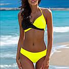 Раздельный модный женский купальник. Яркие расцветки, фото 2