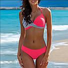 Раздельный модный женский купальник. Яркие расцветки, фото 5