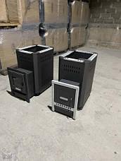 """Піч для бані """"Pro-Thermo Standart"""" зі склом, фото 2"""